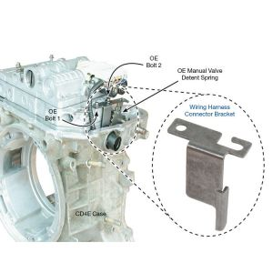 Bracket, Wiring Harness Connector CD4E