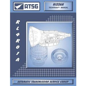 ATSG Tech Manual Nissan RL4RO1A 1990 - Up