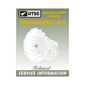 ATSG Tech Manual ZF6HP26 Technician Guide